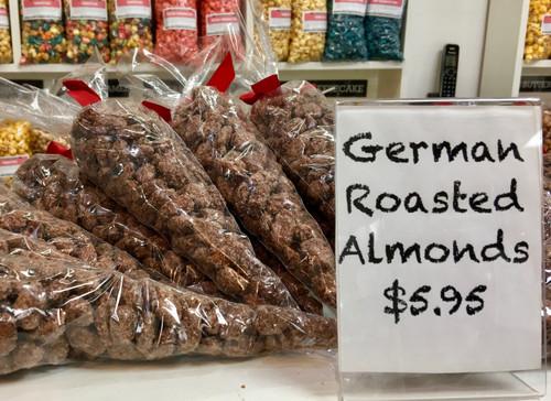 German Roasted Almonds