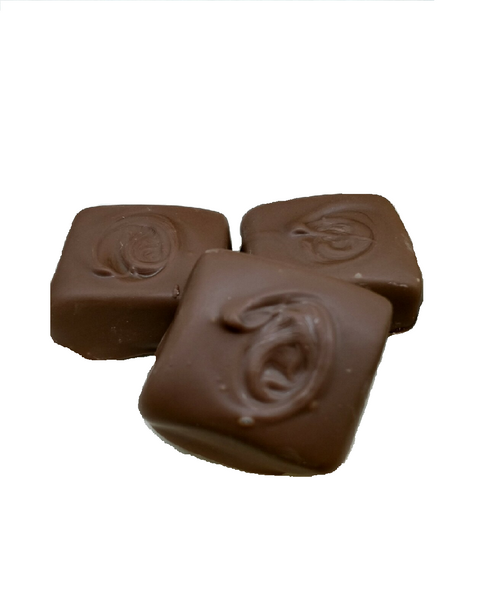 Hand dipped Milk Chocolate  Caramels
