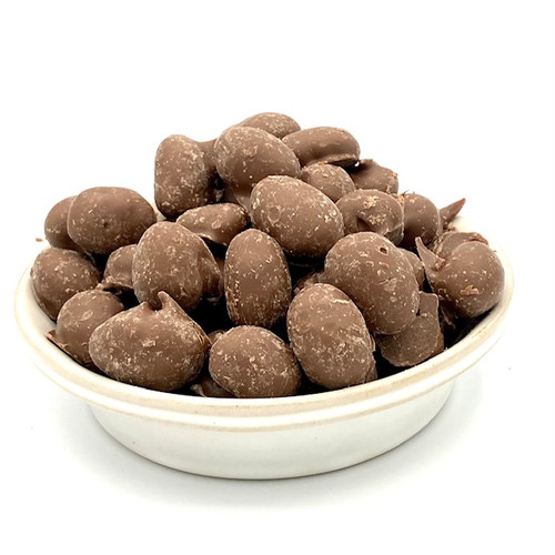 Milk Chocolate Double Dipped Peanuts  .5 lb