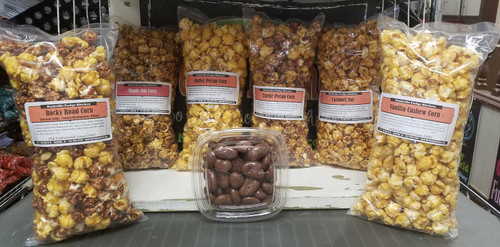 Nutty for you gourmet popcorn bundle