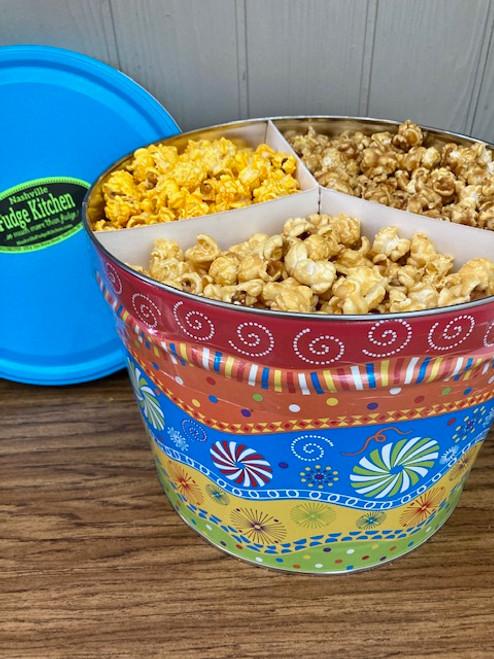 Nashville Fudge Kitchen Popcorn Tin