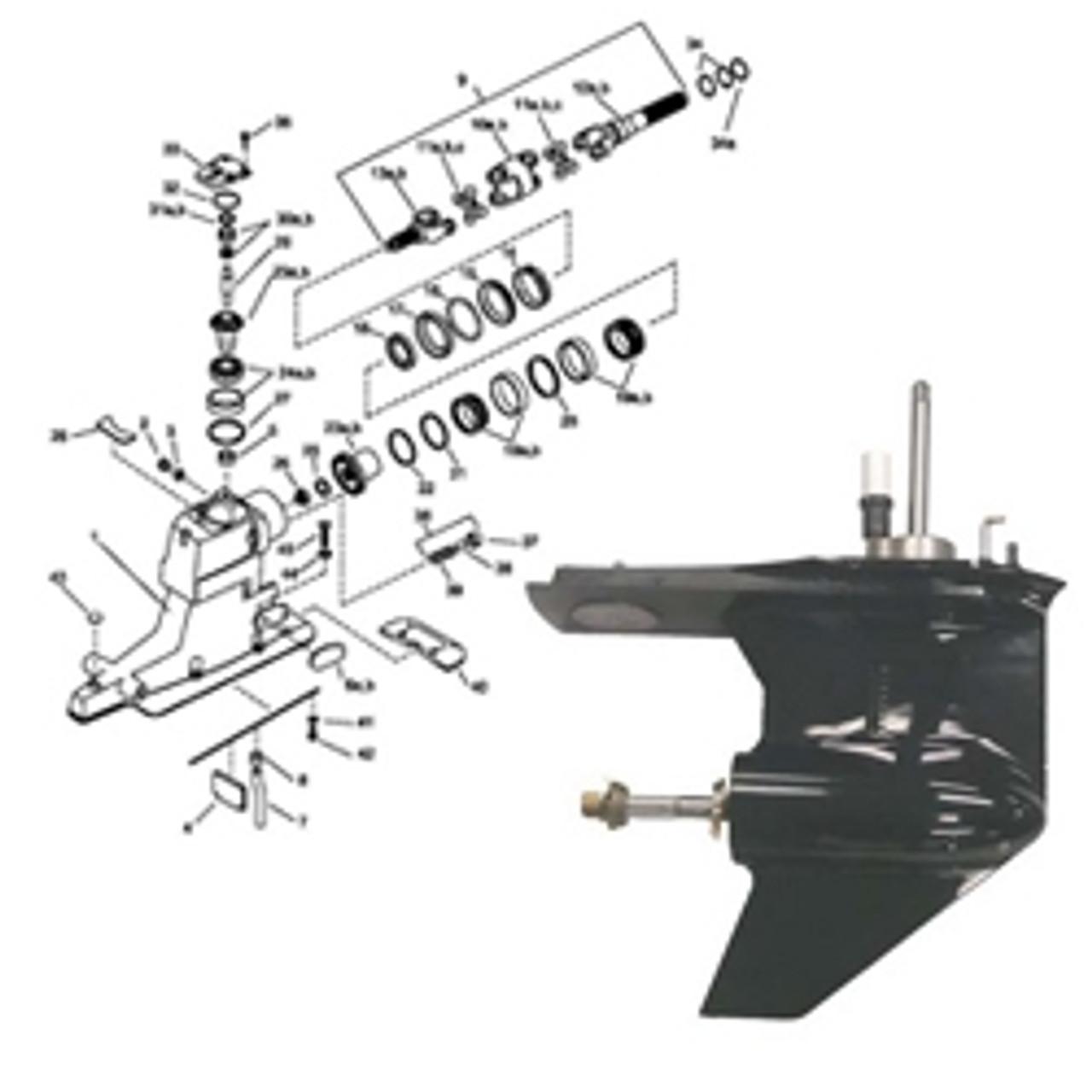 Mercruiser Gearcase & Drive Parts | Wholesale Marine