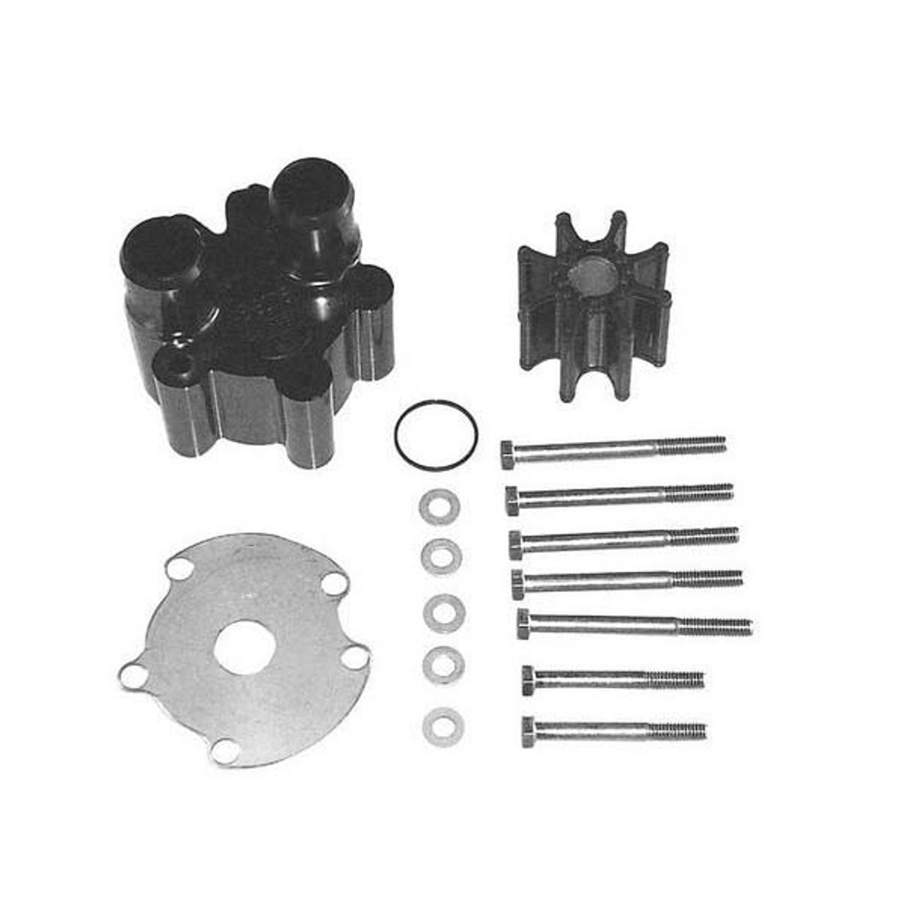 New Mercruiser Water Pump Body//impeller Kit quicksilver 47-59362t 6 Impeller Kit