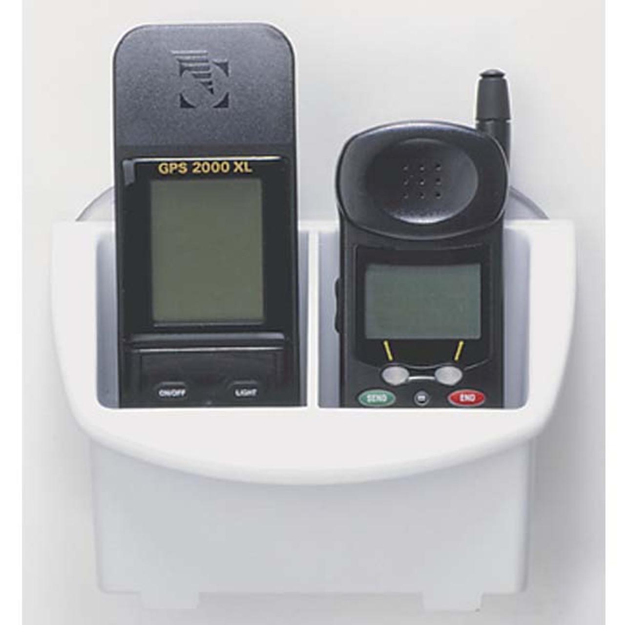 Boat Marine RV STORAGE CADDY Organizer Electronics Phone Holder w// Suction Cups