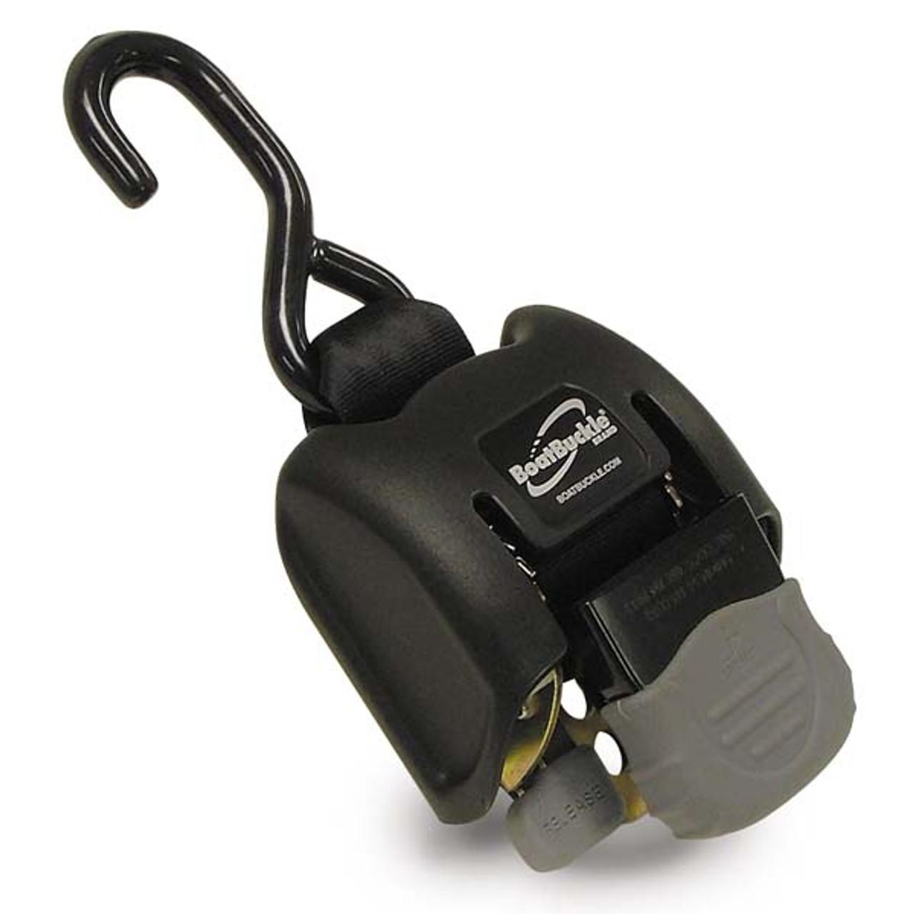 Retractable Ratchet Straps >> Boatbuckle Retractable Ratchet Bow Tie Down