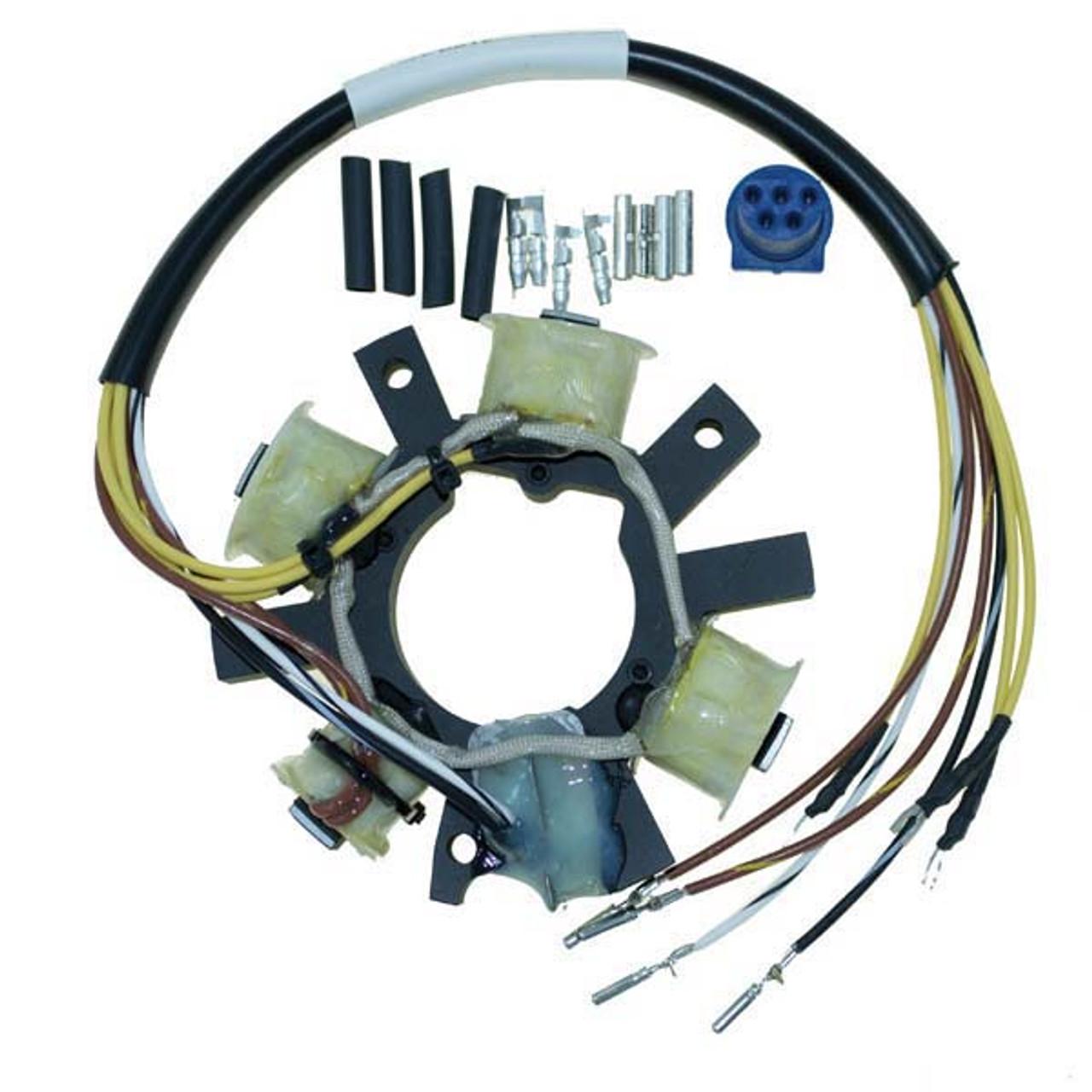 Johnson//Evinrude 9.9-15 HP 4 Stroke Stator 173-4954