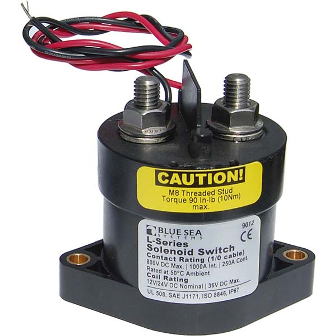 Blue Sea Systems L-Series Solenoid Switch   Battery SwitchWholesale Marine