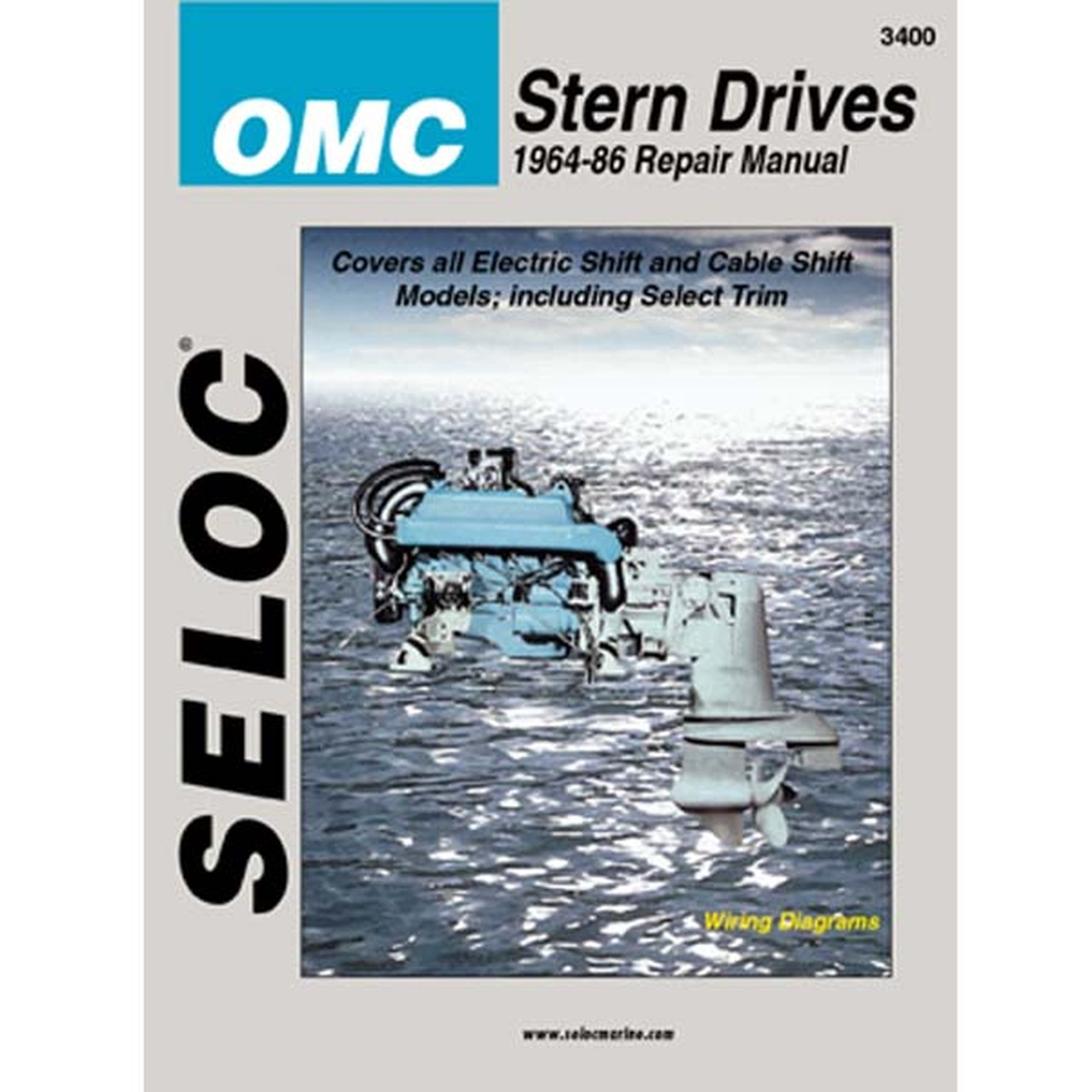 Seloc Service Manual, OMC Sterndrive 1964 - 1986 on