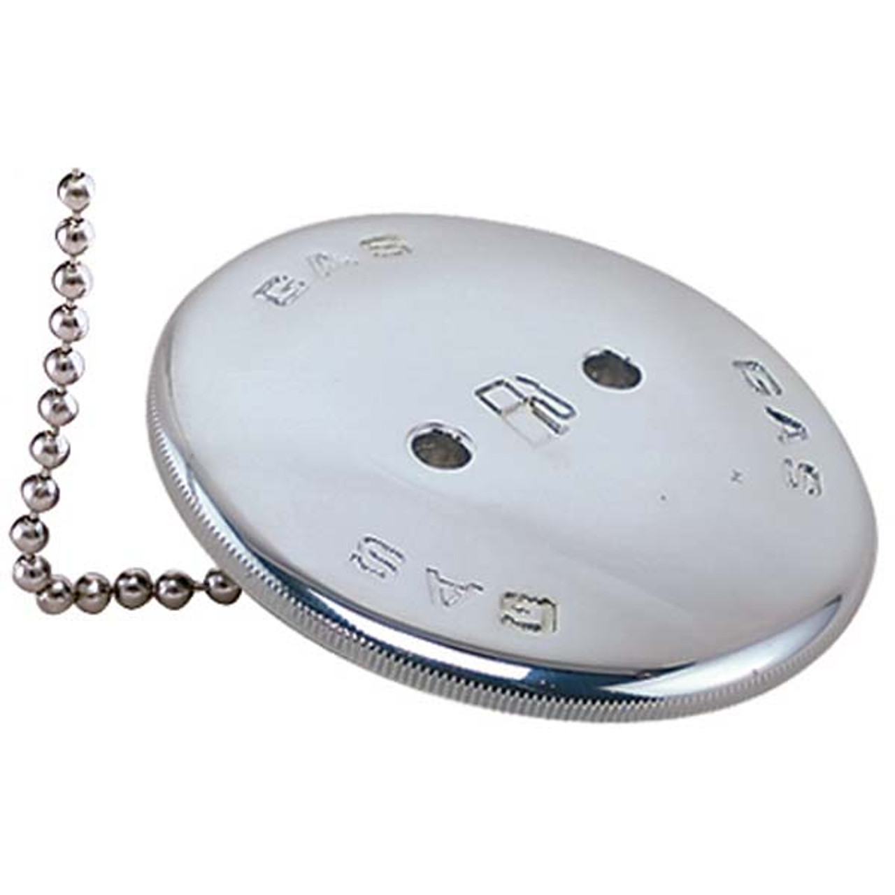 Chrome Bronze Replacement Gas Cap with Chain