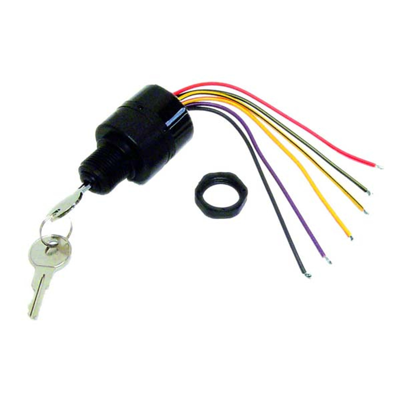 Sierra Mp41070-2 Ignition Switch Replaces 87-17009A5 on hei distributor diagram, 4 wire ignition switch diagram, mallory ignition wiring diagram, msd 6al box wiring diagram, msd ignition wiring diagram, mallory comp 9000 distributor diagram, ford ignition wiring diagram, hei module wiring diagram, interior wiring diagram, unilite distributor parts diagram, electronic ignition diagram, gm hei ignition wiring diagram,