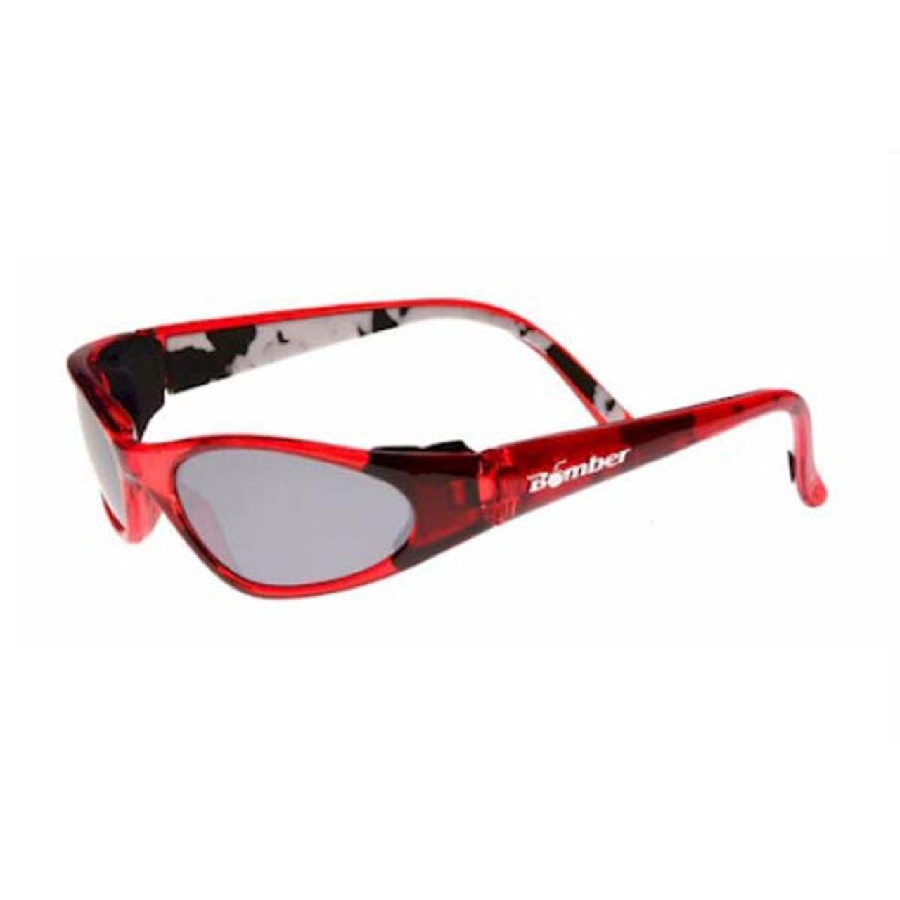 Bomber KCR5 K-Bombs Floating Kids Sunglasses Red//Mirror Lens