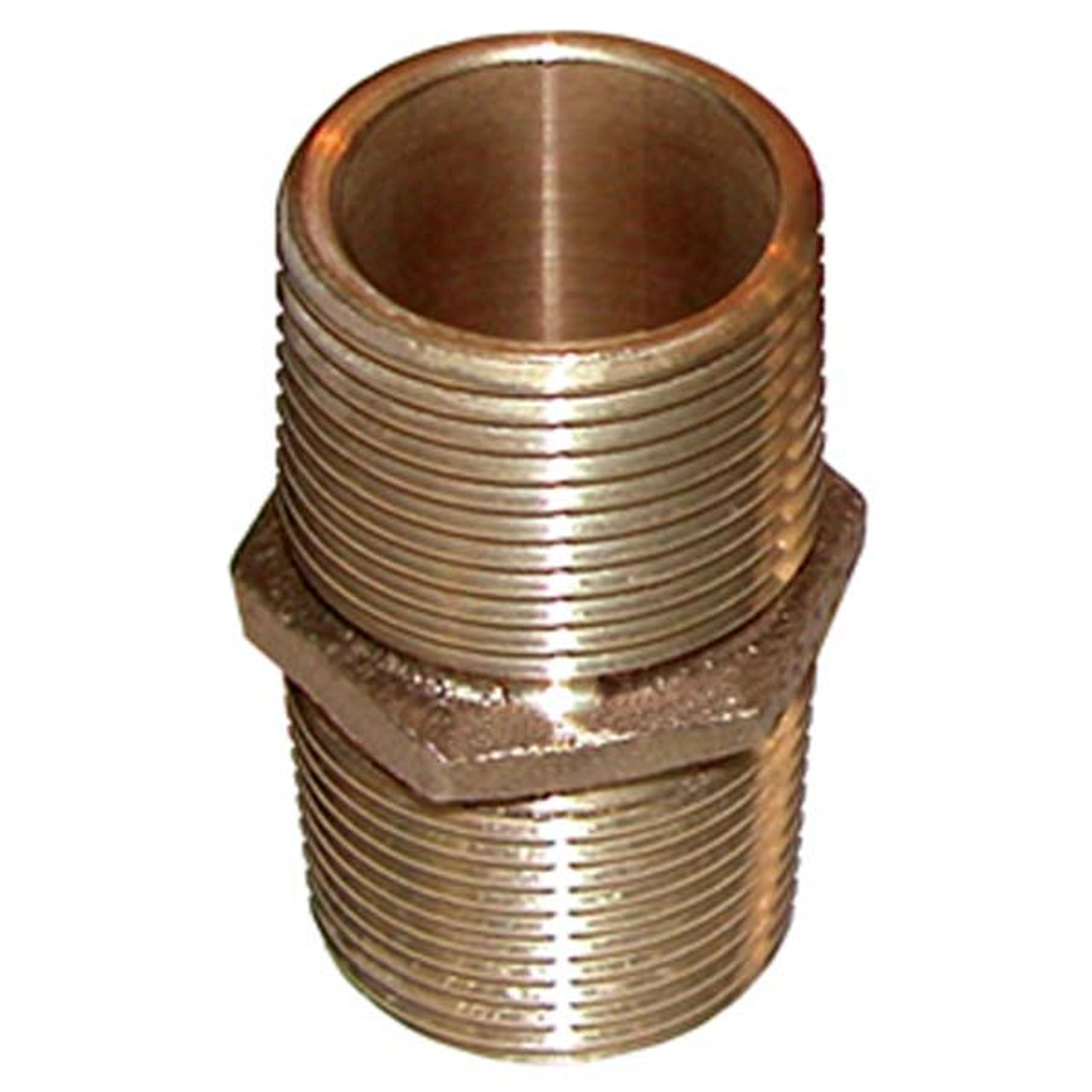 Groco 90 Degrees Bronze Elbow Pipe to Hose 3//4 in