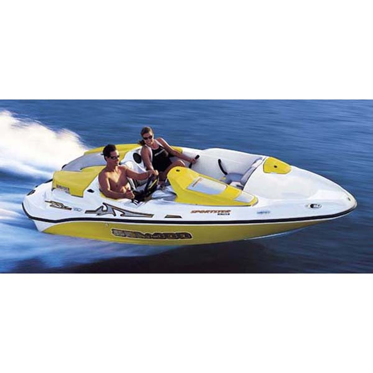 TOWABLE BOAT COVER FOR SEA DOO Sportster 1800 2000