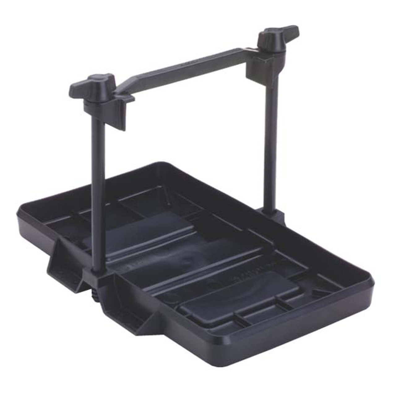 "Aluminium Boat Battery Tray With Hold Down Strap 11/"" x 7 1//8/""  Batteries"