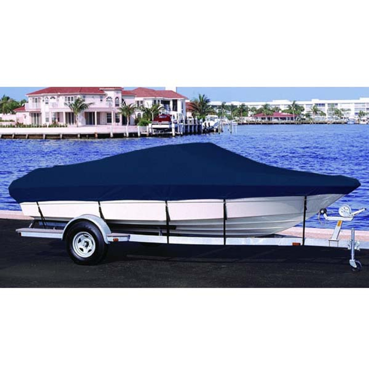 BLUE BOAT COVER FITS Lund 1660 Classic SS 2006 2007 2008