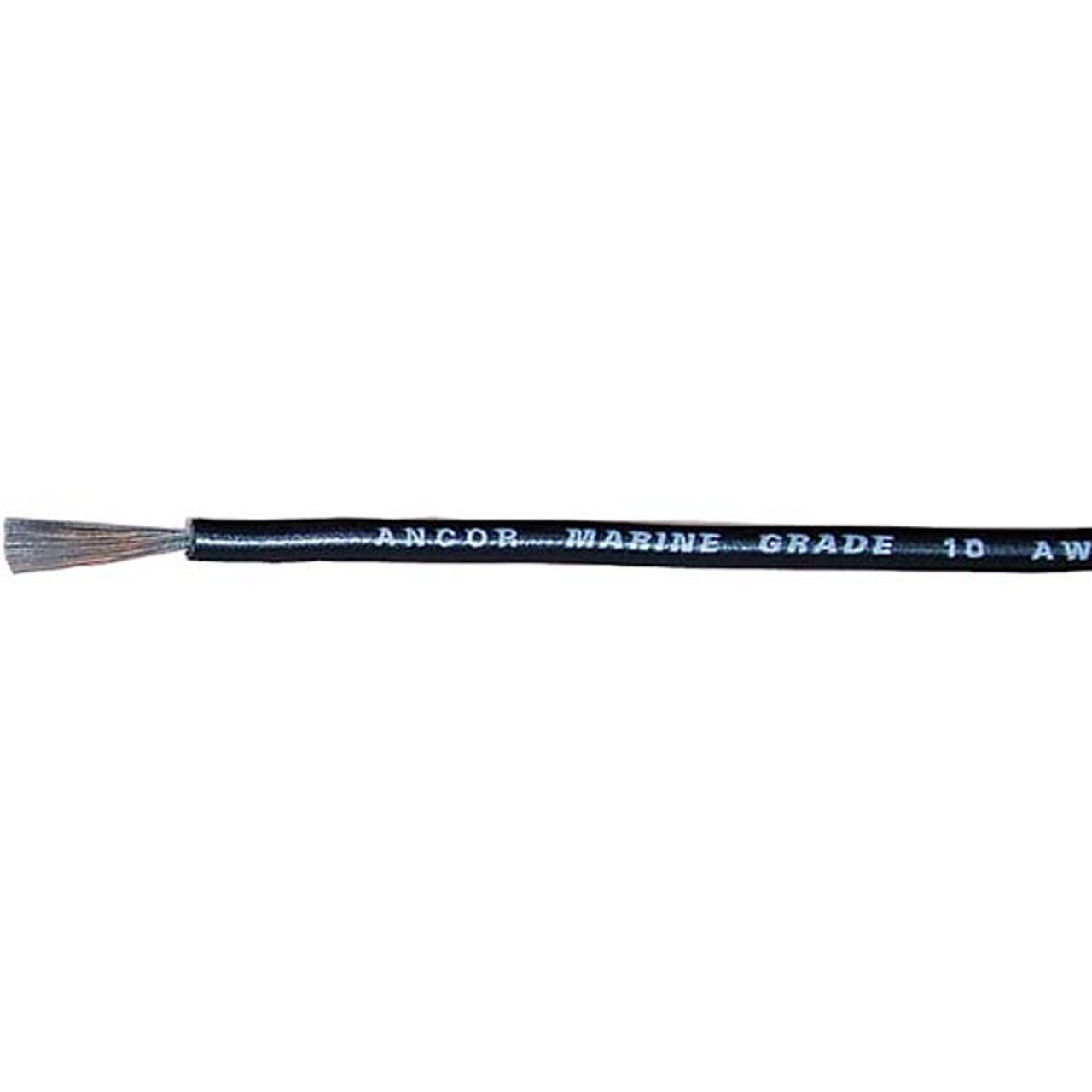 50 Foot Reel 10 Gauge Tinned Marine Primary Wire White