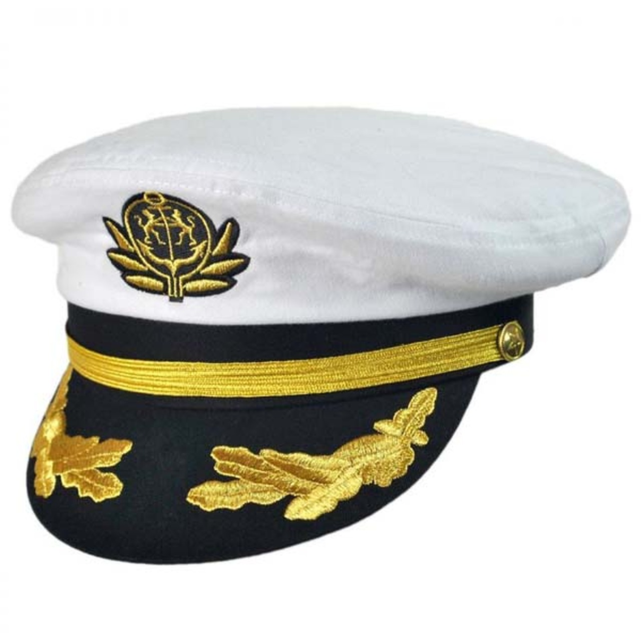 Deluxe Captain's Cap | Wholesale Marine