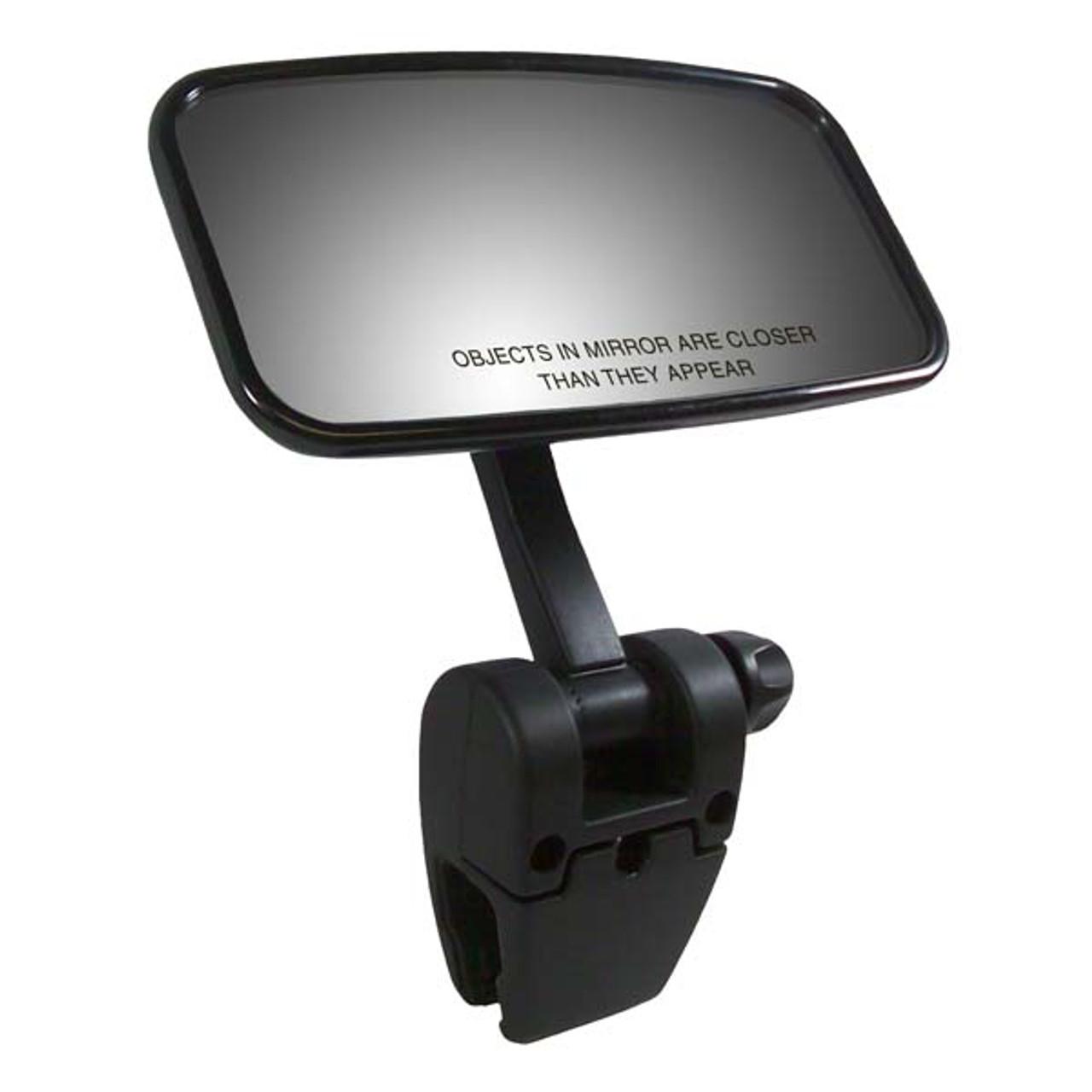 "CIPA Concept II 4"" x 11"" Black Universal Boat Mirror w// Mounting Bracket"