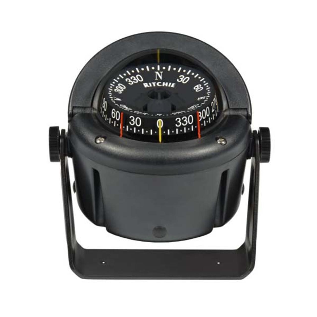 Bracket Mount Black Ritchie B-51 Explorer Compass