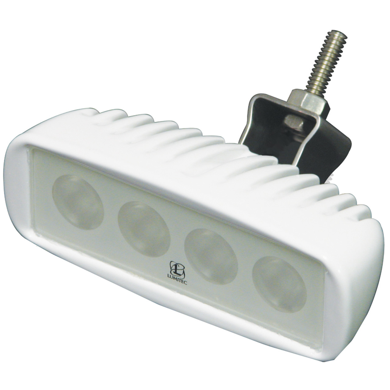 White//Blue Lumitec Caprera2 Dual Color LED Flood White Housing