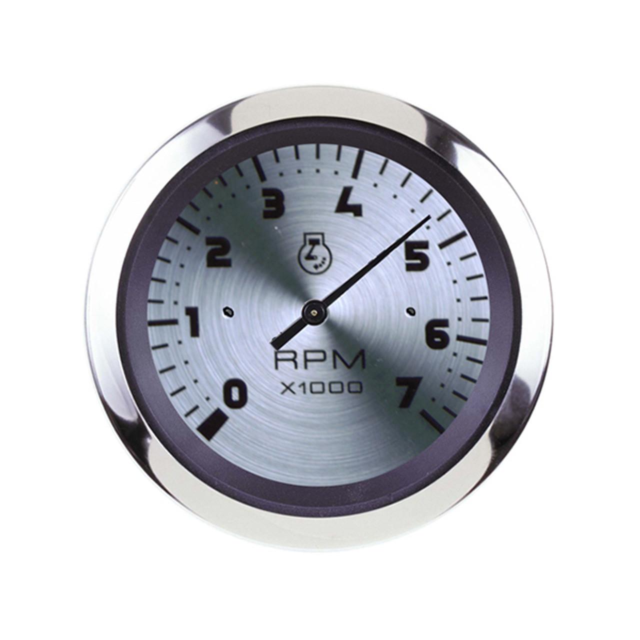 3 Sierra International 65693P Lido 0-7000 Rpm Dial Range Electric Tachometer for O//B /& 4-Stroke Gas Engines