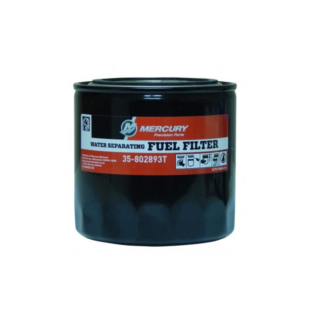 [DIAGRAM_38YU]  Mercury 35-802893T Water Separating Fuel Filter | Waterproof Fuel Filter |  | Wholesale Marine
