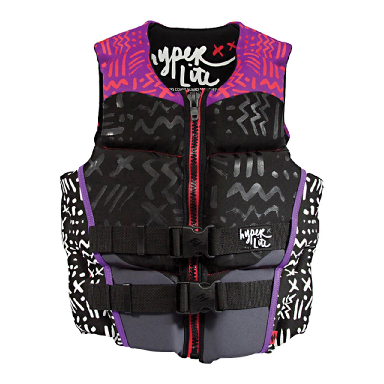 Medium Hyperlite Women/'s Indy Neo Vest Purple//Pink