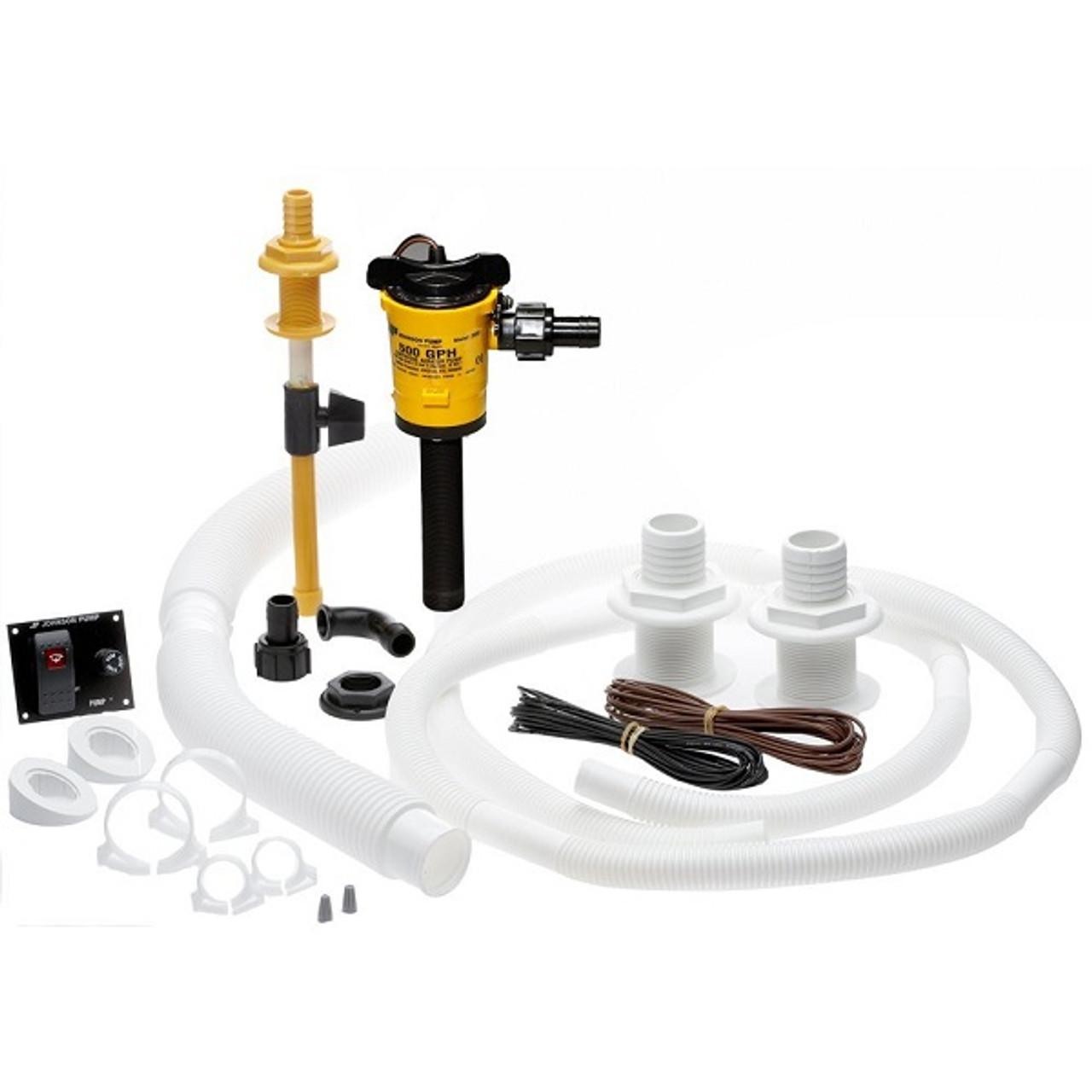 SPX  s Johnson Pump Cartridge Aerator Pump 500 GPH 90