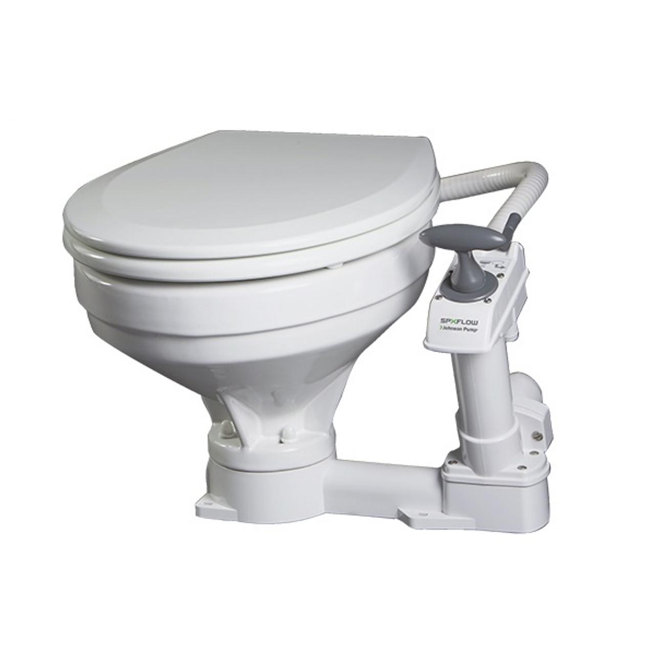 Fine Johnson Aquat Comfort Marine Toilet Machost Co Dining Chair Design Ideas Machostcouk