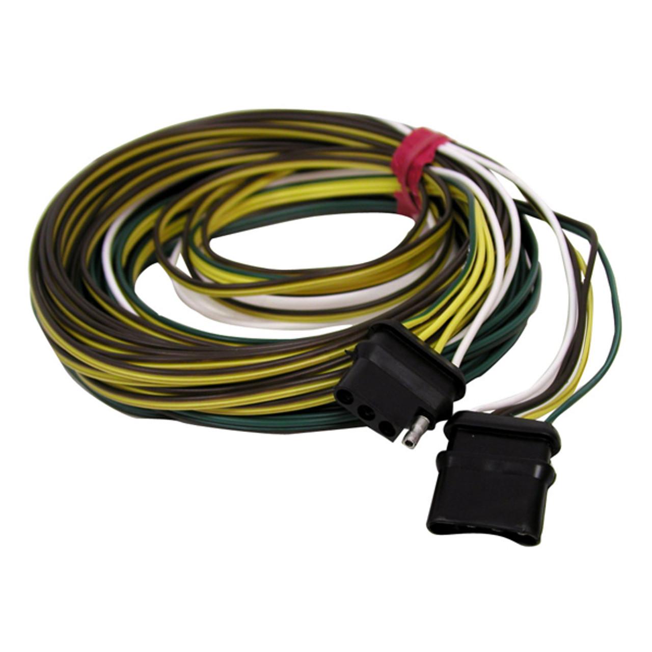 Anderson 4-Way Flat Wishbone Trailer Wire Harness   Wishbone Wire Harness      Wholesale Marine
