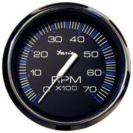 Faria Chesapeake White SS Tach//Sys Check 7000 RPM