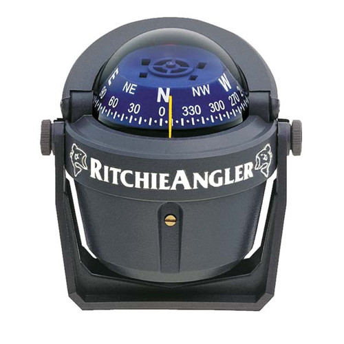 Ritchie Boat Marine Voyager Compass Flush Mount Traditional Black F-83
