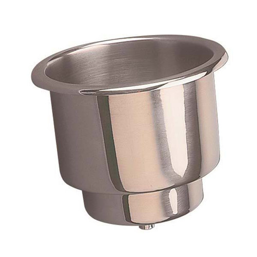 T-H Marine Cup Holder Stainless Steel #LCH-1SS-DP