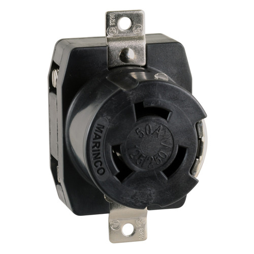 50 Amp Receptacle >> Marinco 50 Amp Shore Power Receptacle