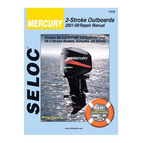 Mercury Outboard Service Manuals Wholesale Marine