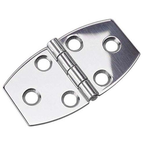 "Sea Dog 205390-1 Stainless Steel Strap Hinge Pair 4/"""