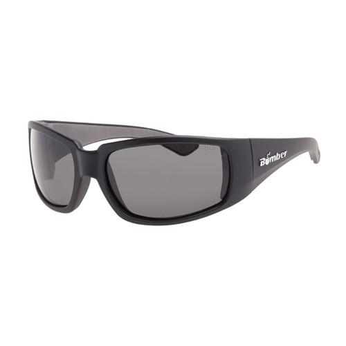 New Polarized Calcutta Steelhead Sunglasses Matte Black Frame//Gray Lens SH1G