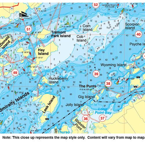Raystown Lake Fishing Map