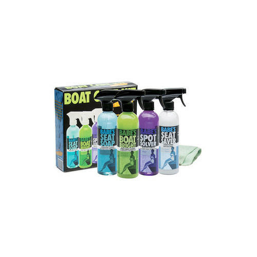 Babe/'s Bucket of Babe/'s Complete Boat Care Kit BB7501