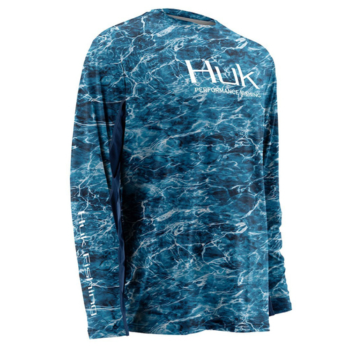 Kryptek ICON Short Sleeve Shirt H1200024-TY2 Huk Fishing Typhon Green