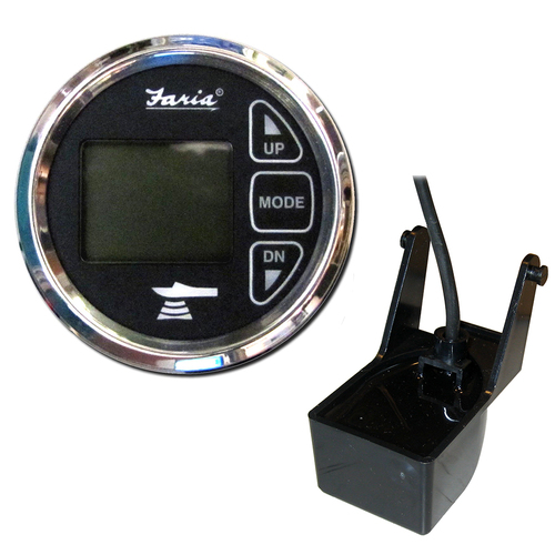 """Faria Beede Instruments 13851 2/"""" Depth Sounder In-Hull Transducer Chesapeake"""