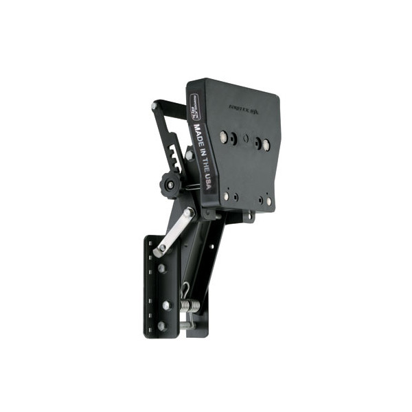 Garelick 71093 Aluminum Auxiliary Motor Bracket For 4-Stroke Motors 15HP