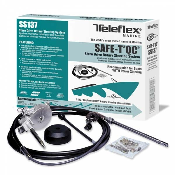 Teleflex Rotary Steering Kit Ss137 Safe T Qc Rotary Steering Kit