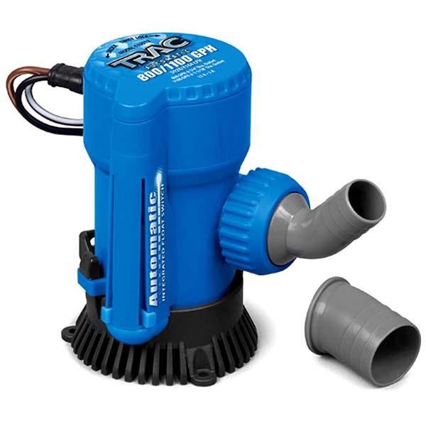 TRAC Automatic 800/1100 GPH Bilge Pump on