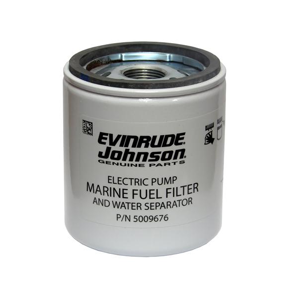 johnson evinrude 5011090 fuel water separator filter rh wholesalemarine com johnson outboard fuel filter location evinrude johnson marine fuel filter