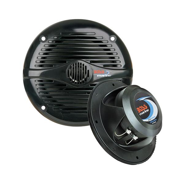 "Boss Audio MR52W 5.25/"" 2-Way Coaxial Marine Speaker 150W White"