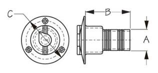 Sea-Dog-351320l-Dimensions
