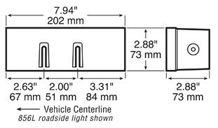 Anderson 856 Dimensions