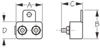 Resettable Circuit Breakers Dimensions
