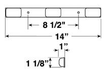 Anderson E151-3RL Dimensions